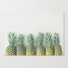It's All About the Pineapple Canvas Print