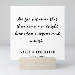 11       Søren Kierkegaard Quotes   190523 Mini Art Print