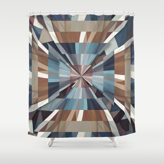 All This Time Shower Curtain