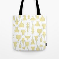 spires Tote Bags featuring Spires by Kakibot