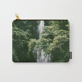 Waterfall in Hana Maui Carry-All Pouch