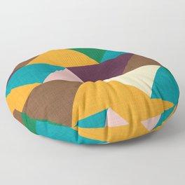 Kilim Chevron Floor Pillow