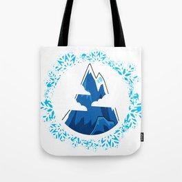 snow mountain  Tote Bag