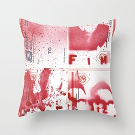 FIM - KISSINGER GONE POSTAL Throw Pillow
