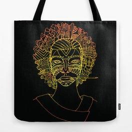 Masque de La Bergère - Noire Tote Bag
