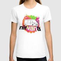 nirvana T-shirts featuring nirVANa by nick inglis