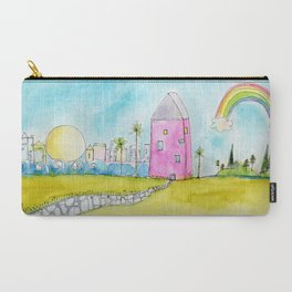 Best of Both Worlds by Kae Pea Carry-All Pouch