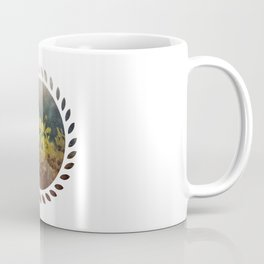 Abstract Yellow Daisies Coffee Mug