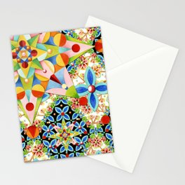 Elizabethan Blossom Starburst Stationery Cards