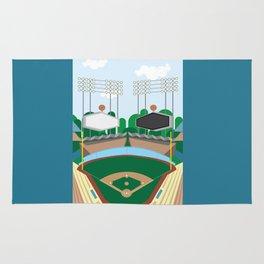 Dodger Stadium Rug