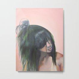 Hair Identity Metal Print