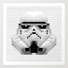 Star Wars - Stormtrooper Art Print