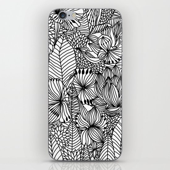 Floral field iPhone & iPod Skin