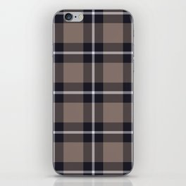 big dark weave monochrome iPhone Skin