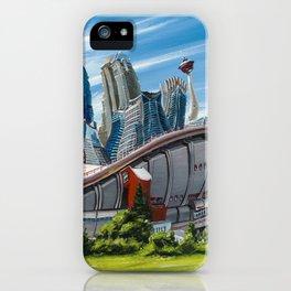 Downtown Calgary Skyline iPhone Case