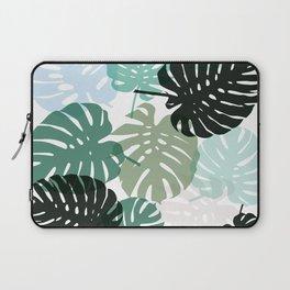 Tropical Monstera - green Laptop Sleeve