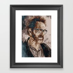 Walt Framed Art Print