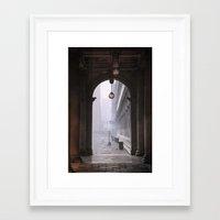 portal Framed Art Prints featuring Portal by stephmel