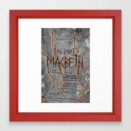 """""""Macbeth"""" poster Framed Art Print"""