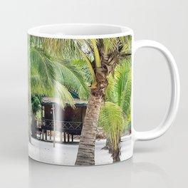 Bungalows on Palm Beach Coffee Mug
