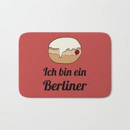 Ich bin ein Berliner Bath Mat
