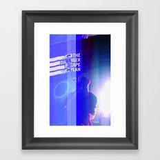 Dillinger Escape Plan glitches Berlin Framed Art Print
