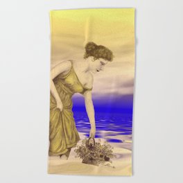 vintage memories -02- Beach Towel