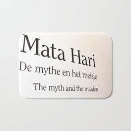 Mata Hari part 2 Bath Mat