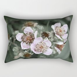 Delicate like you and me Rectangular Pillow