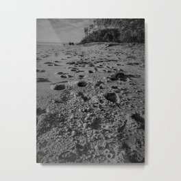 On beach time- Woodgate Beach, Qld Metal Print