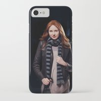 amy pond iPhone & iPod Cases featuring Doctor Who's Amy Pond by Sara LD