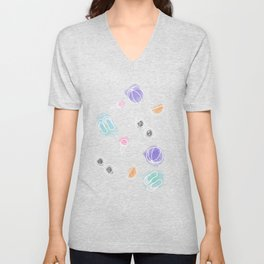 Summer in watercolors Unisex V-Neck