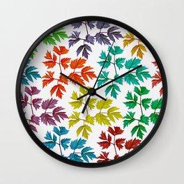 Happy Autumn Wall Clock