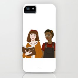Matilda & Lavender iPhone Case