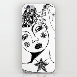 You Have No Clue What Is In My Head GRRL iPhone Skin