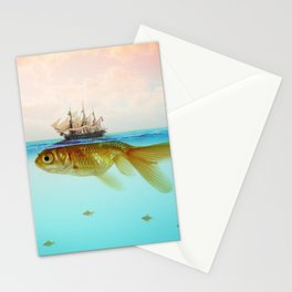 Goldfish Tall Ship Stationery Cards