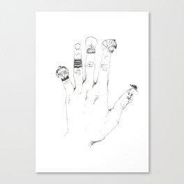 stories Canvas Print