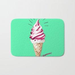 Yummy Ice Cream | Digital Art Bath Mat