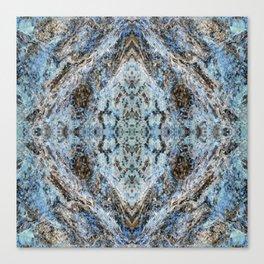 Southwestern Turquoise Pattern Canvas Print