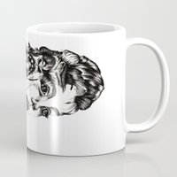 evolution Mugs featuring Evolution by LNNDESIGN