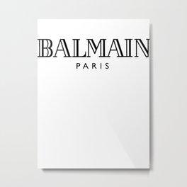 Balmain Metal Print