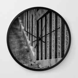Shrine Steps Wall Clock