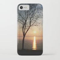 hemingway iPhone & iPod Cases featuring The old man and the sea by Paula Belle Flores