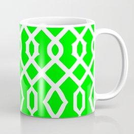 Grille No. 3 -- Lime Coffee Mug
