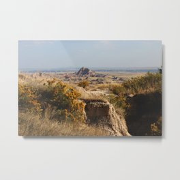 badlands I Metal Print