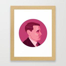 Queer Portrait - Willem Arondeus Framed Art Print