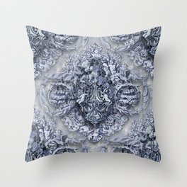 AnGeLique bLue Throw Pillow