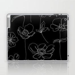 Botanical illustration drawing - Botanicals Black Laptop & iPad Skin