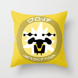 Gold Squadron (Alliance) Throw Pillow