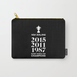New Zealand Treble Rugby World Cup Champions Carry-All Pouch